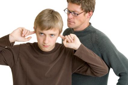 Padres e hijos contrastantes