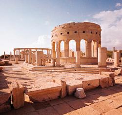 Los sitios arqueológicos Libios sobreviven a los ataques de la OTAN