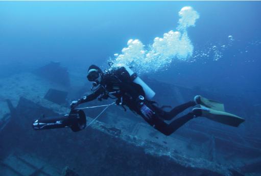 Fe bajo el agua