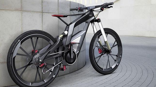 "Audi presenta ""e-Bike"" una bicicleta eléctrica futurista"