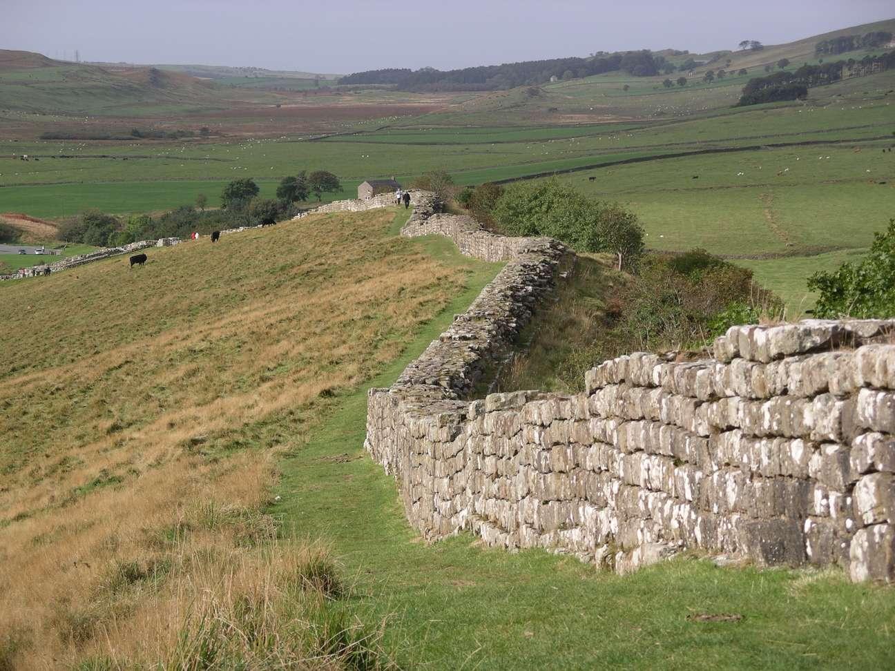 El Muro de Adriano