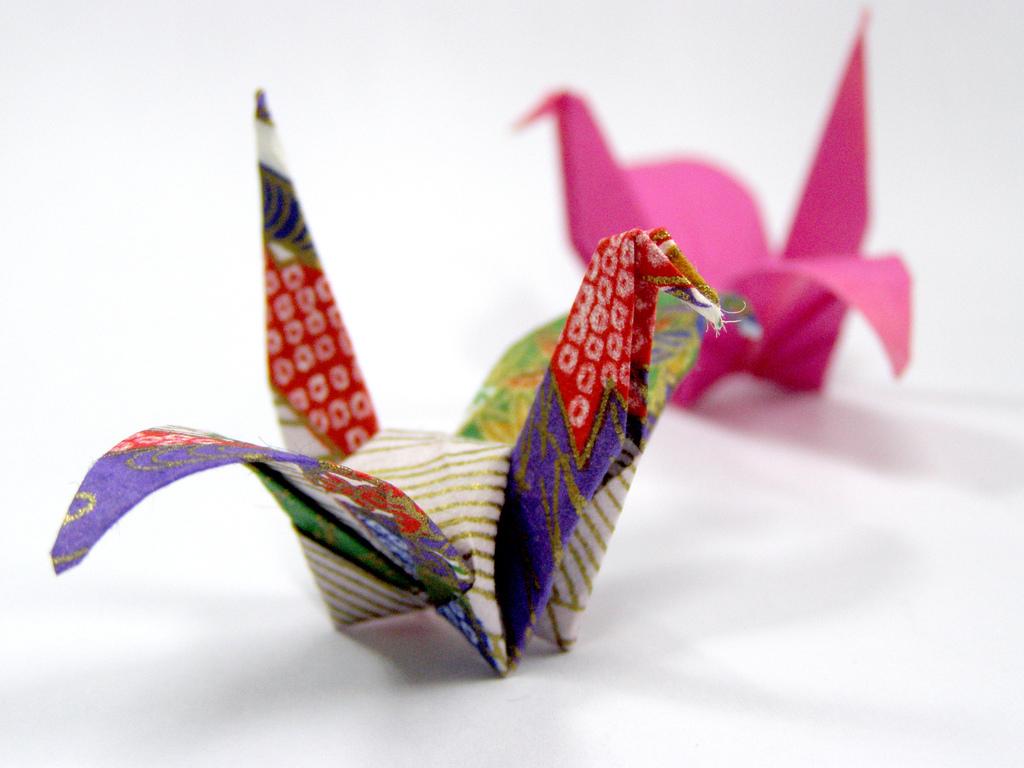 ¿Sabes que eres como un origami?