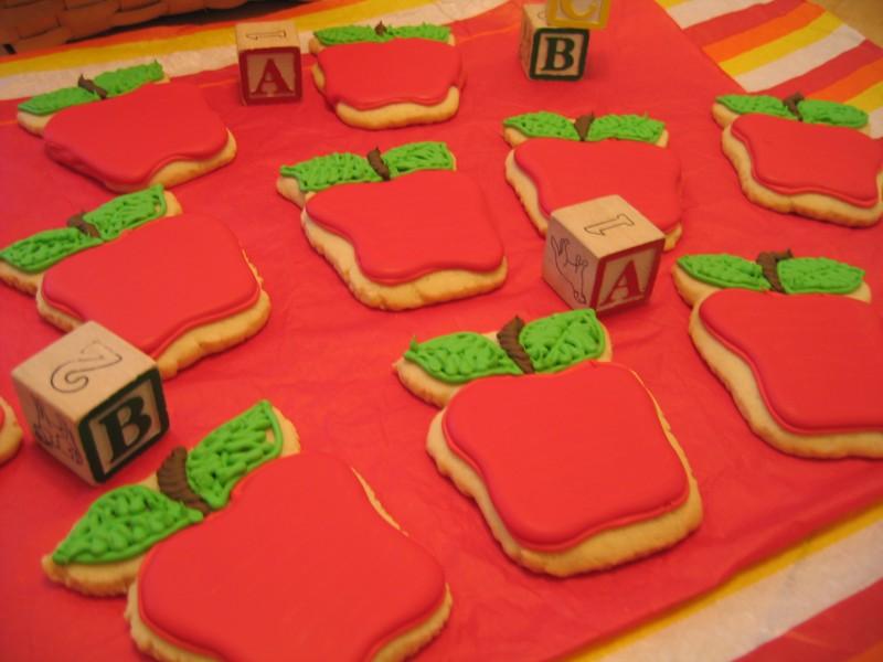 Hablando de galletas y manzanas (Rep.)