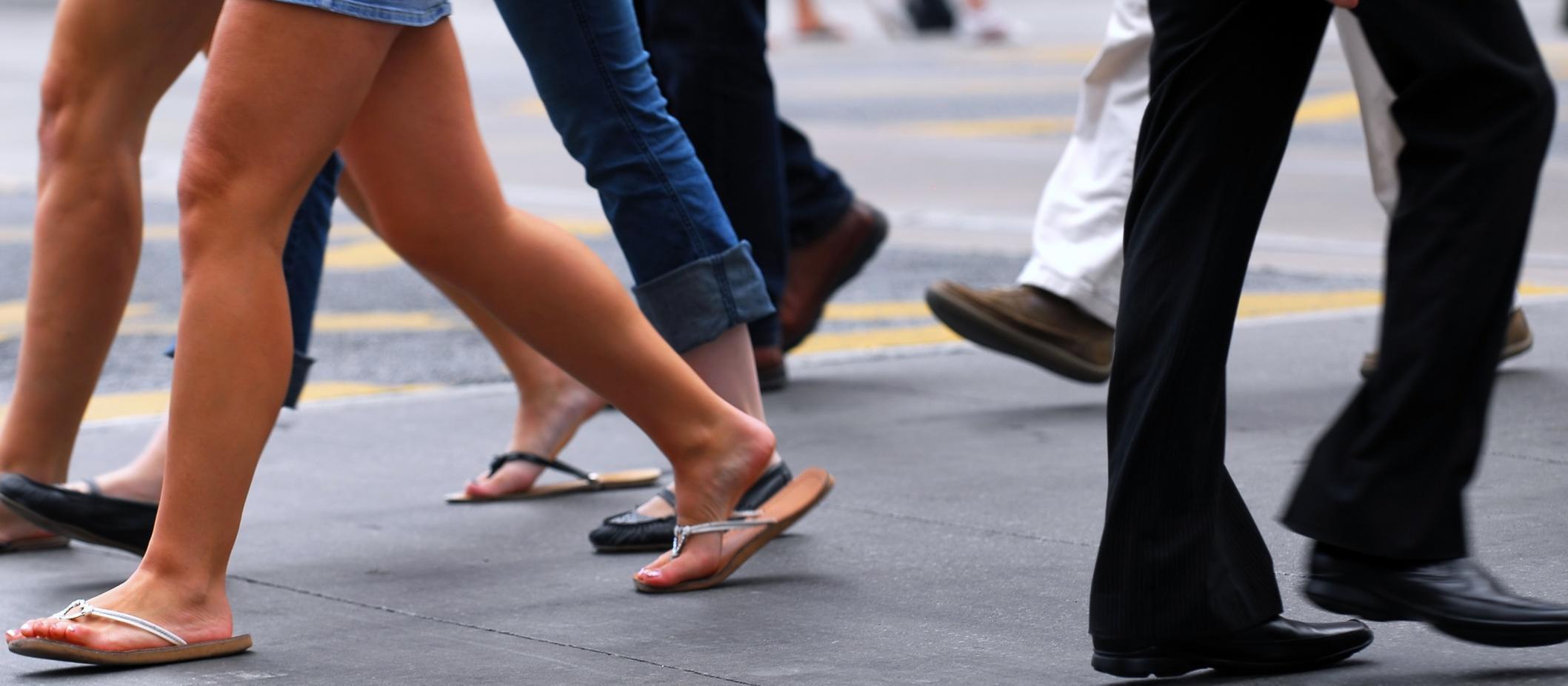 ¿A dónde vas con tus pies?