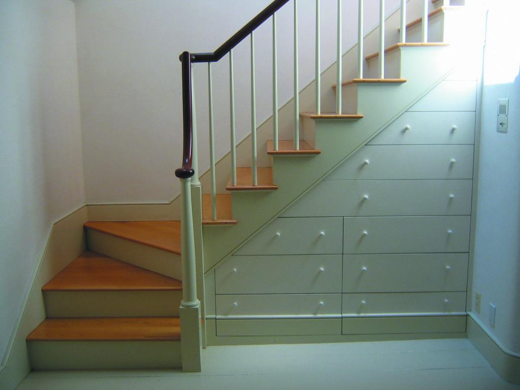 Al final de las escaleras