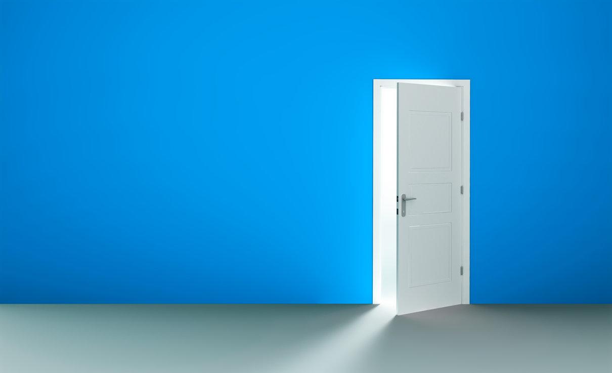 Al salir de tu puerta