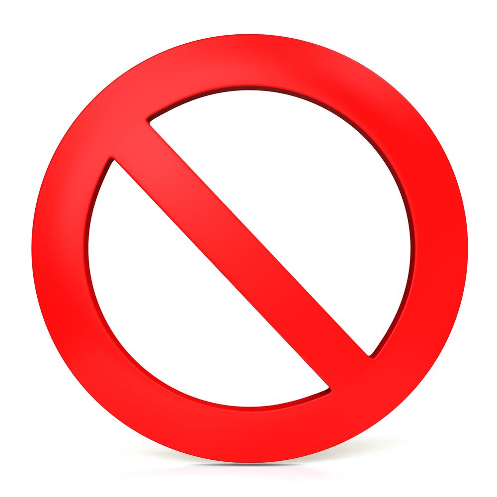 Prohibido…