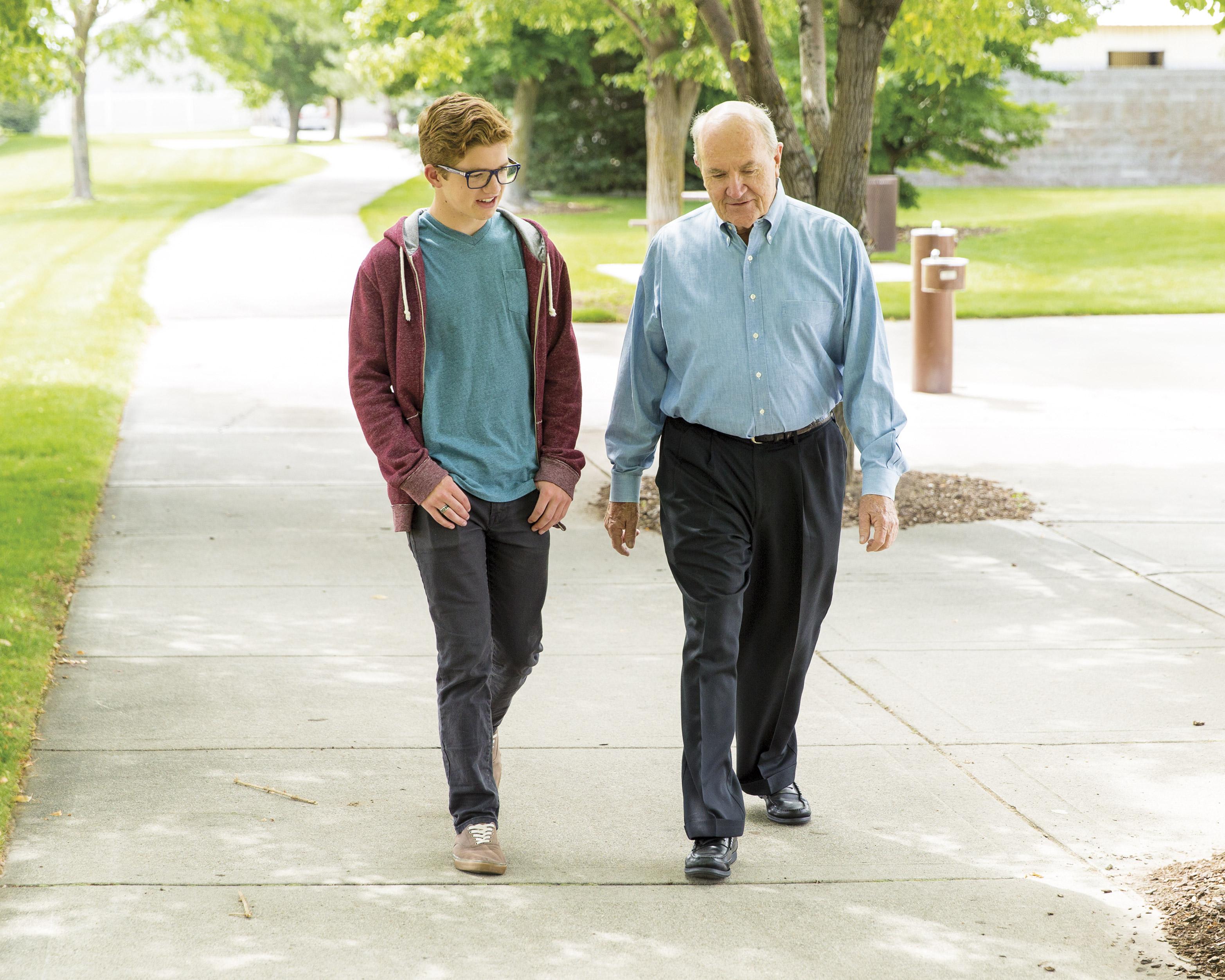 El joven y el viejo