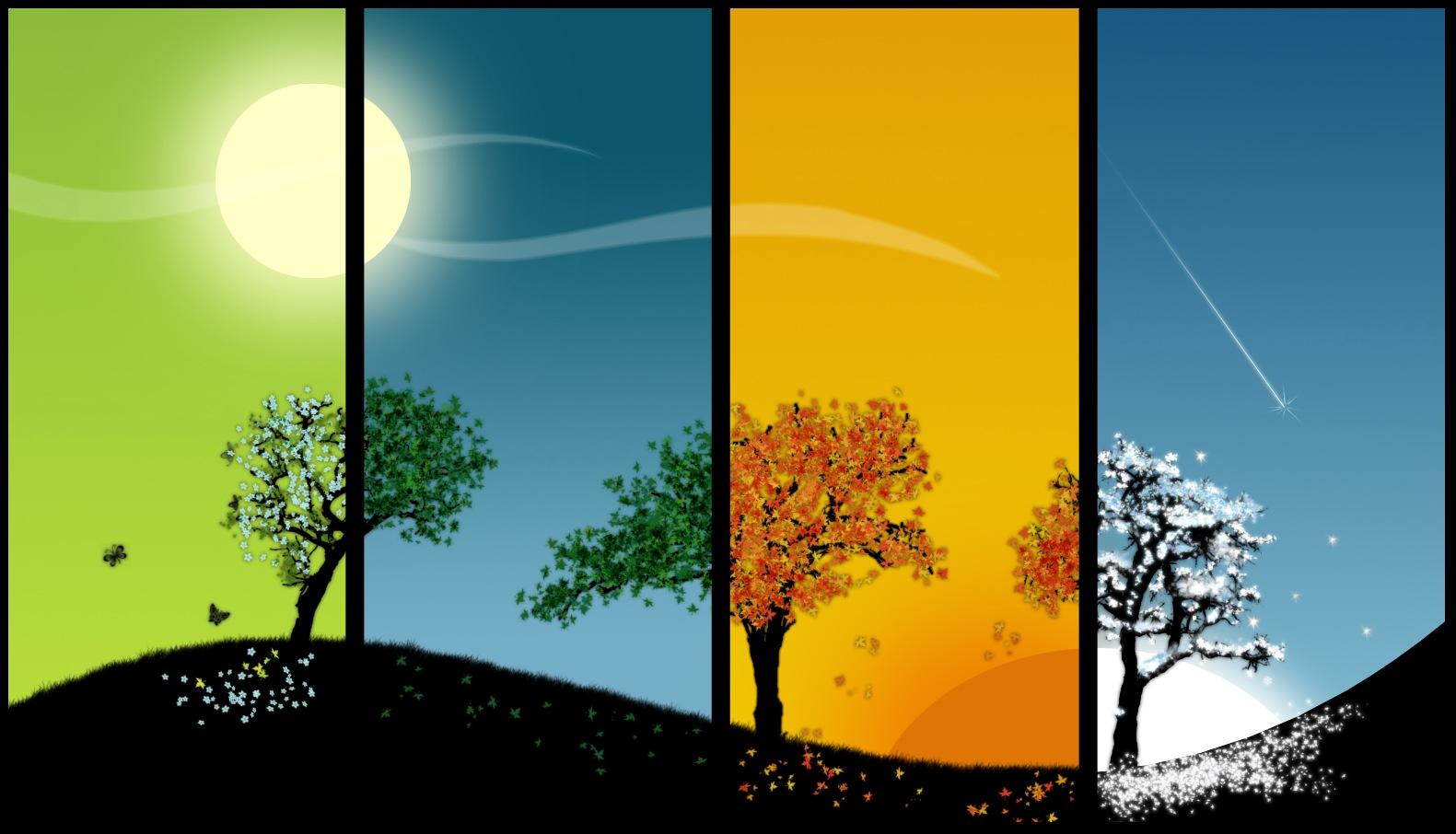 Las estaciones de la vida