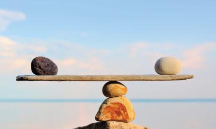 En balance perfecto