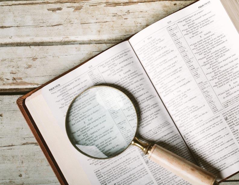 Los detalles de tu fe