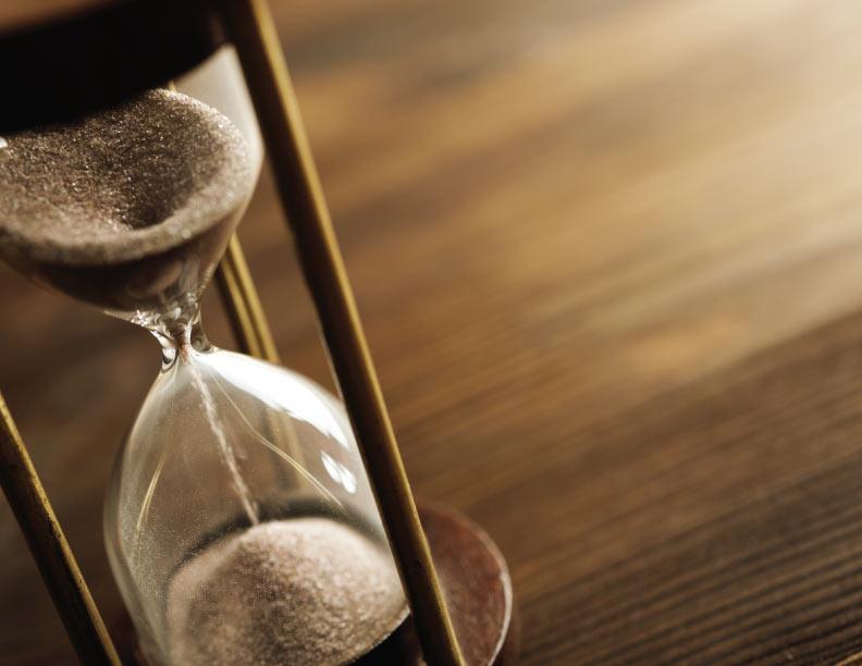 El tiempo llegó: tomó su cruz