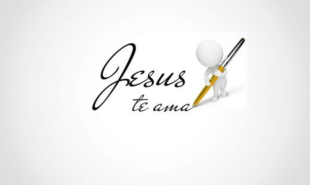 ¡Jesús te ama!