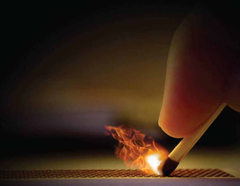 Cuidado con los fuegos