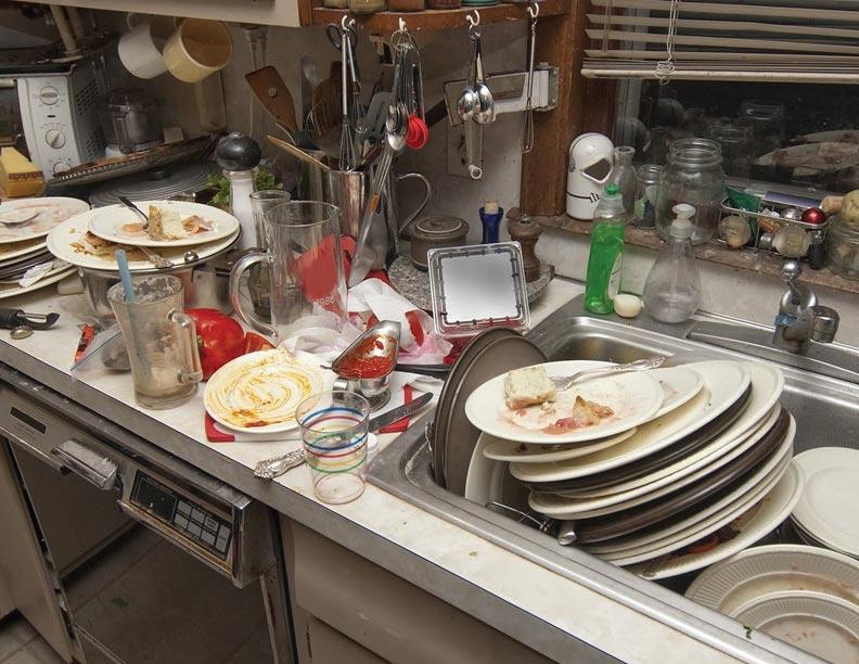 ¡A lavar los platos!