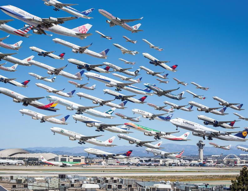 Aviones y avionetas por igual