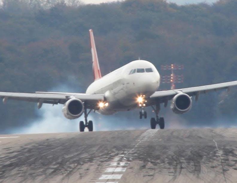 Aterrizajes peligrosos