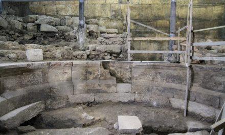 Israel descubre un anfiteatro debajo del Muro Occidental