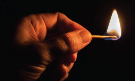 Un fuego incendiario