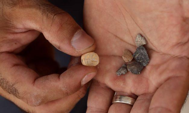 Los sellos de los israelitas refugiados