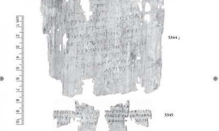 Hallan fragmento del Evangelio de Marcos
