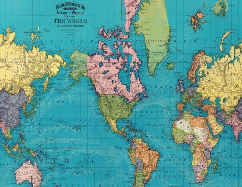 Mapas distorsionados