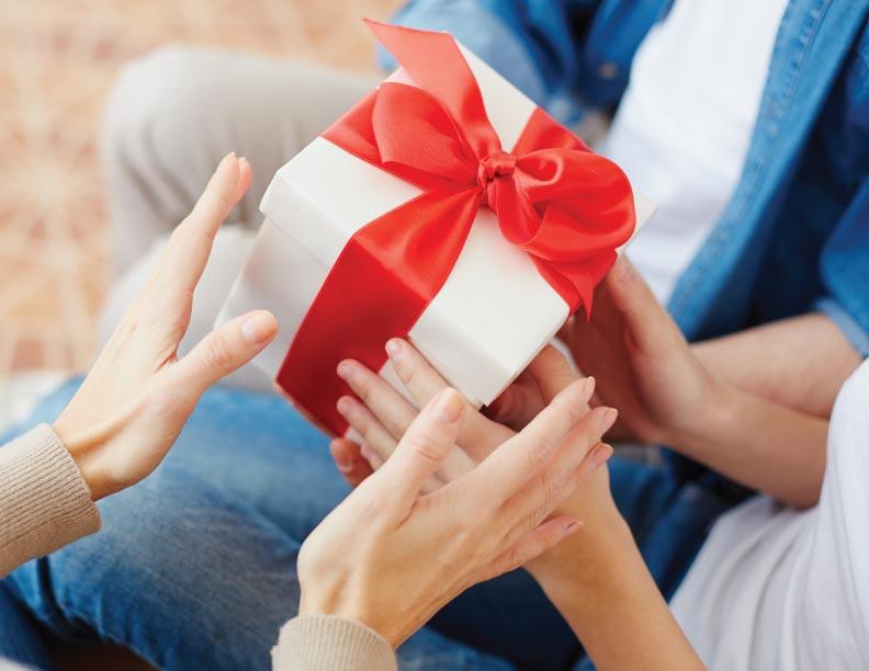 El mejor regalo de un padre y una madre