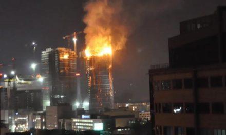 ¡Fuego en la torre!
