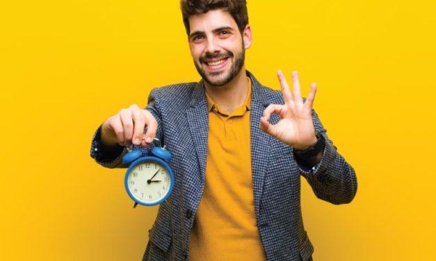 ¡Tu preciado tiempo!