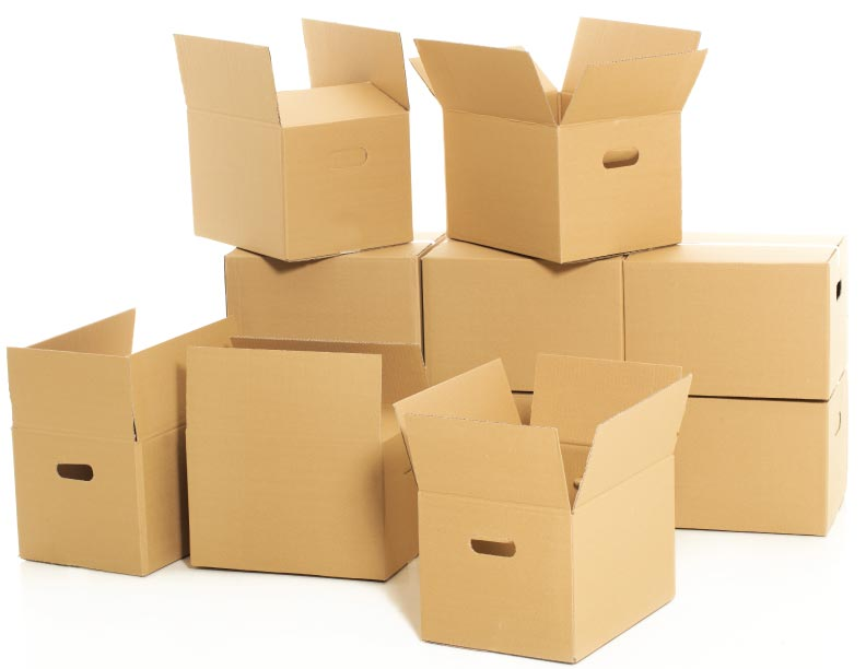 Una caja vacía