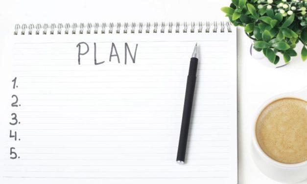 Planificación y oración