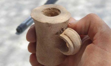 Tintero de la era del Segundo Templo encontrado en Israel