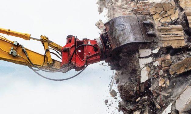 Abandona la demolición