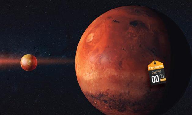 Marte en oferta