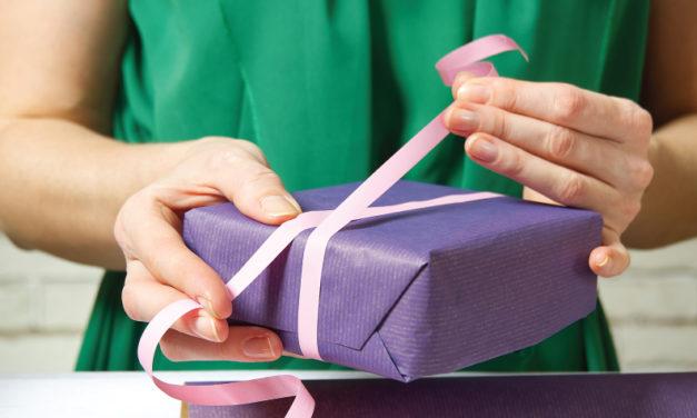 Como el papel de regalo