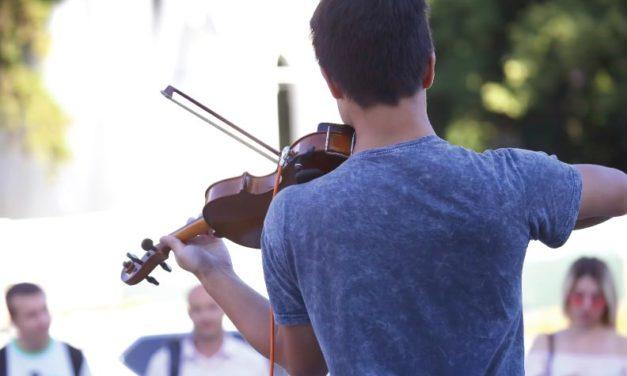 Un violinista aceptable