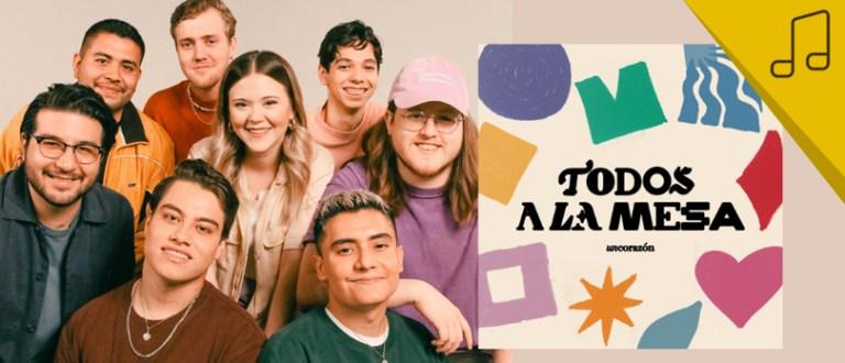 Un Corazón presenta su nuevo álbum: Todos a la mesa